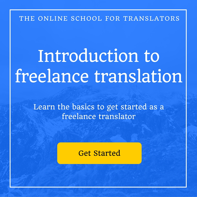 Getting Started as a Freelance Translator